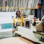 Cnc medarbejder i lokal virksomhed